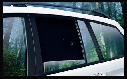 Автошторки защищают салон автомобиля от проникновения насекомых
