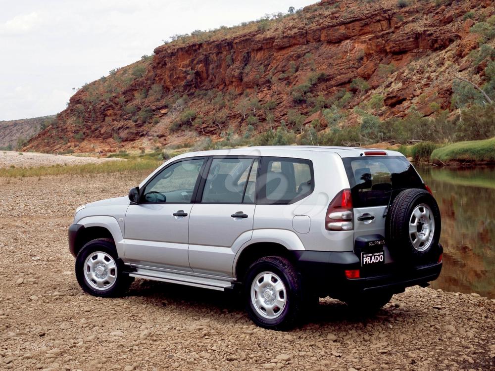 Sonnenschutz Fr Toyota Land Cruiser Prado Suv 5d 2003 2009 120