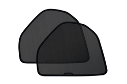 Комплект защитных экранов Laitovo на зажимах (ЗФ, Темная / 5-15%)